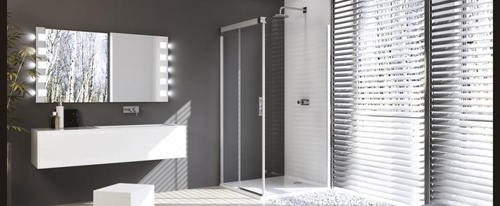 Mampara de ducha design pure de huppe mamparas ba o - Gamma banos ...