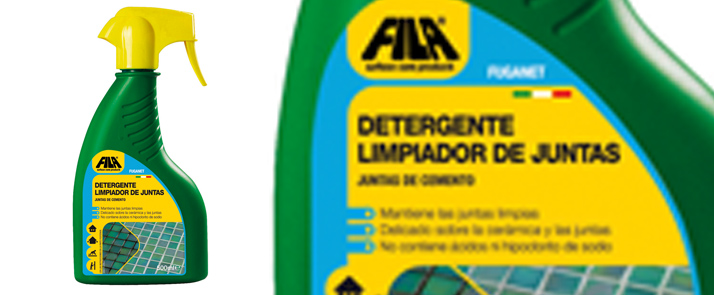 Detergente limpiador de juntas de fila qu micos for Limpiador de juntas