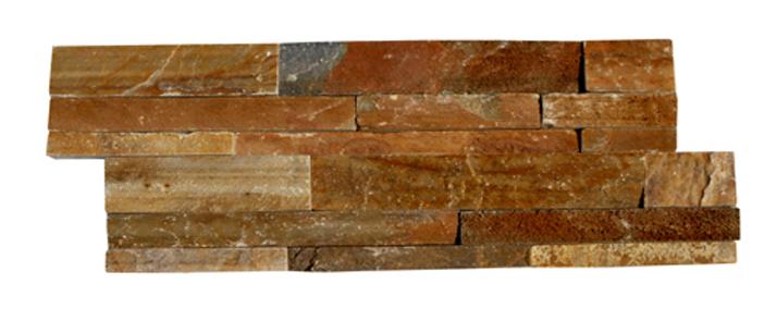 Panel de piedra natural de pizarra himachal multicolor - Panel piedra precio ...