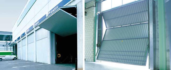 puerta industrial basculante de roper puertas garaje