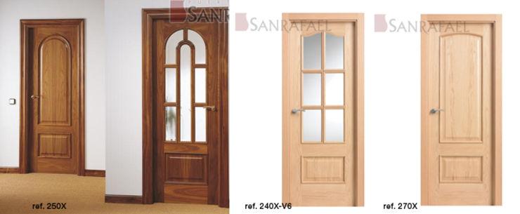 Puertas de interior Curva de SanRafael / Puertas interior ...